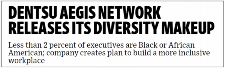 AdAge Story Reveals Diversity Issue