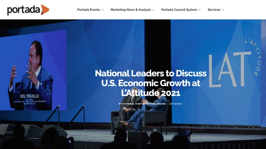 National Leaders Discuss U.S. Economic Growth at L'ATTITUDE 2021
